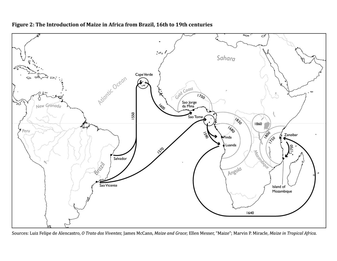 The South Atlantic Columbian Exchange   Frederico Freitas